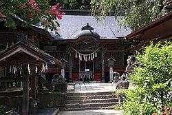 刈田嶺神社 拝殿