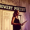 Keila Vall de la Ville reads at Bowery Poetry, East Village, NYC, 2019.jpg