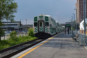 Kennedy GO Station northbound clip.JPG
