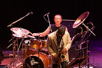 Vinnie Colaiuta - Colaiuta with Kenny Garrett in the Five Peace Band