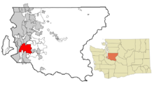 Kent Washington highlighted in King County.png