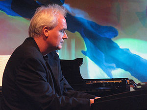 2004 in jazz - Ketil Bjørnstad,  at the Moers Festival Germany 2004.
