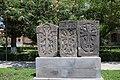 Khachkars near Etchmiadzin Cathedral 04.jpg