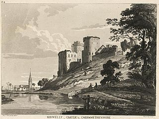 Kidwelly Castle in Caermarthenshire