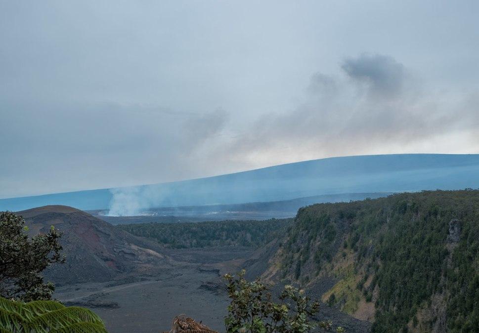 Kilauea Iki, Kilauea, Haemaumau, and Mauna Loa