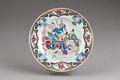 Kinesisk porslins tallrik från 1735-1795 - Hallwylska museet - 95814.tif