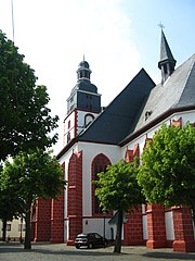 St. Michaels Catholic Church in Kirchberg Hunsrück