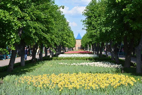 Парк 50 років Жовтня, © Наталія Шестакова, CC-BY-SA 4.0