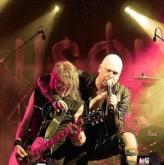 Unisonic (band) - Image: Kiske & Hansen live