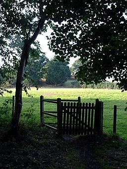 Kissing Gate on Bigod Way - geograph.org.uk - 224198