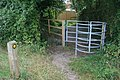 Kissing gate near Whitmoor Common - geograph.org.uk - 1463471.jpg
