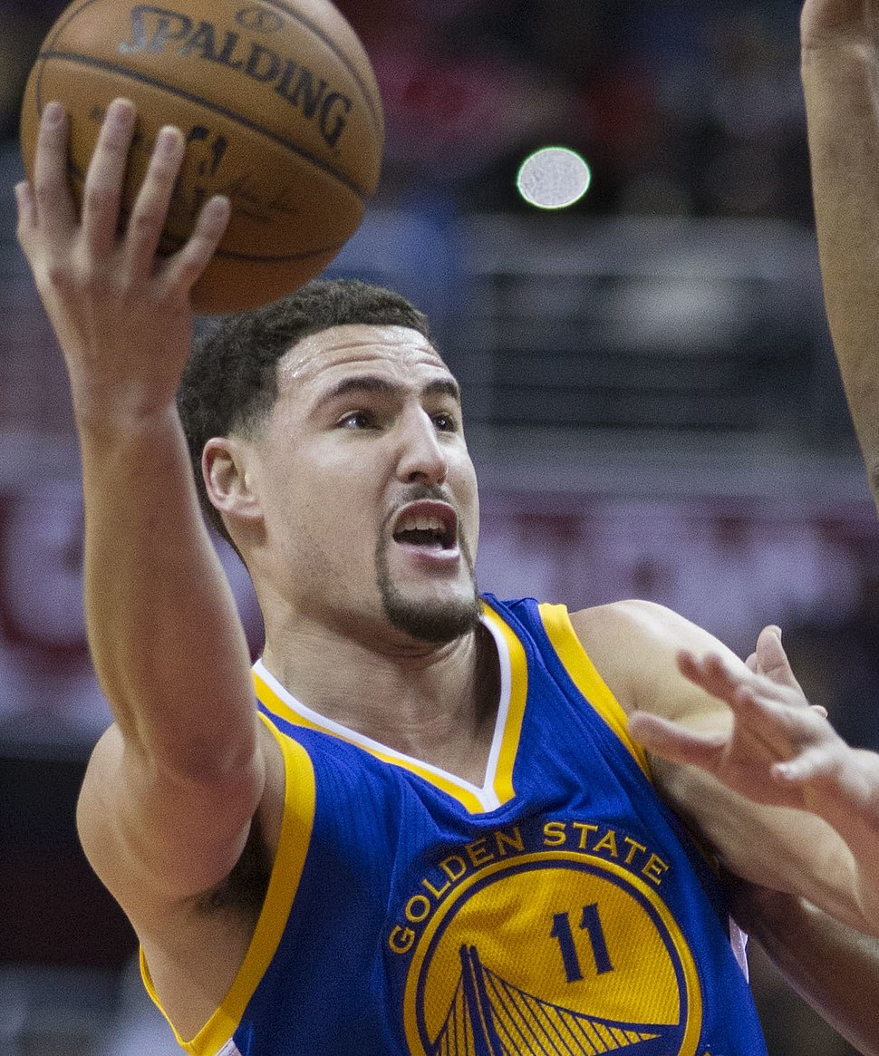 Klay Thompson (cropped)