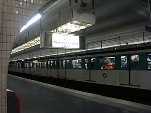Kléber (Paris Métro) - Image: Kleber Metro