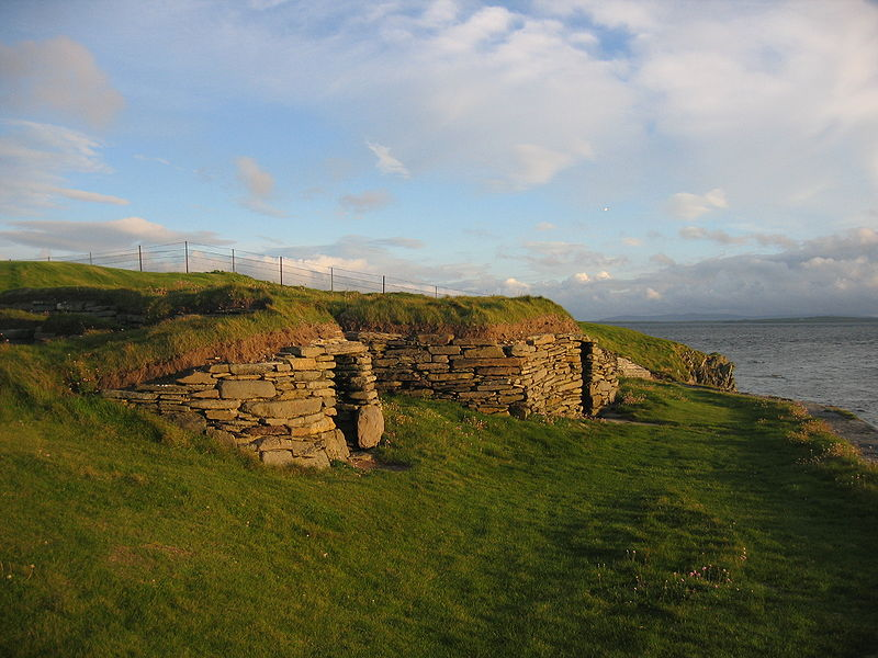 Knap of Howar homes, Scotland, 3700-3100 B.C.