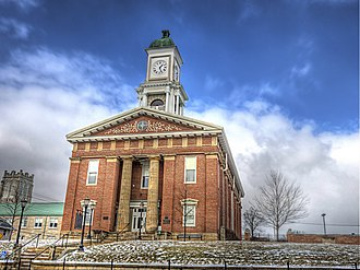 Knox County, Ohio - Image: Knox County, Ohio Courthouse (14516804607)