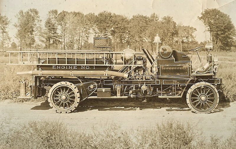 Horse Drawn Fire Engines 1896 The Public Domain Review