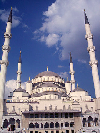 Kocatepe Mosque - Image: Kocatepe Mosque Ankara