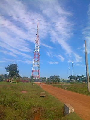 Kokavil transmission tower - Kokavil transmission tower in 2015