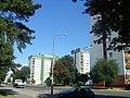 Kolorowe wieżowce przy ul. Poczdamskiej - widok w stronę Dworca PKS - panoramio.jpg