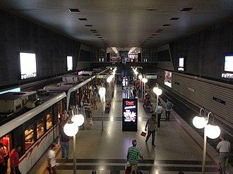 İzmir Metro - Konak station of the İzmir Metro