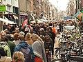 Koningsdag in Amsterdam, Haarlemmerdijk foto 3.JPG