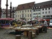 Markt auf dem Münsterplatz