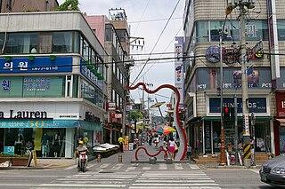 Anseong Municipal City in Sudogwon, South Korea