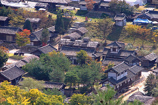 Jecheon Municipal City in Hoseo, South Korea
