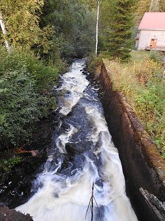 Juupajoki - Image: Korkeakoski alajuoksu