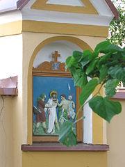 Krížová cesta pri kaplnke