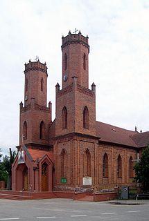 Krokowa Village in Pomeranian Voivodeship, Poland