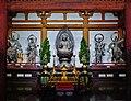 Kyoto Daigo-ji Kondo (Haupthalle) Innen Altar 2.jpg