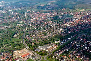 Aerial photo of Lüdinghausen