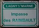 L1559 - Plaque de rue - Impasse des Raimbault.jpg