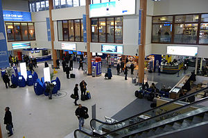 London City Airport - Terminal interior