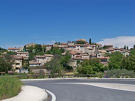 The village of La Bastidonne