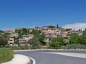 La Bastidonne - The village of La Bastidonne