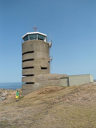 Rangefinder - German range finding tower in Jersey