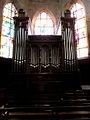 La Guerche-de-Bretagne (35) Basilique Notre-Dame Grandes-Orgues 01.JPG