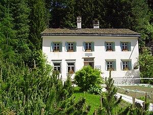 Nietzsche-Haus, Sils Maria - The Nietzsche-Haus in Sils Maria