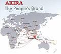 La marque AKIRA dans le monde.jpg