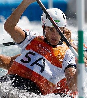 Ladislav Škantár Slovak slalom canoer