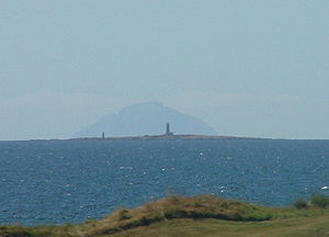 Lady Isle - Lady Isle with Ailsa Craig beyond
