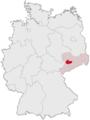 Lage des Landkreises Mittweida in Deutschland.png