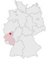 Lage des Landkreises Neuwied in Deutschland.PNG