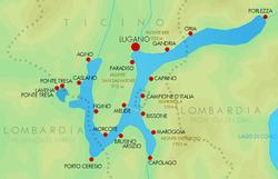 La Cartina Geografica Della Svizzera.Lago Di Lugano Vikidia L Enciclopedia Libera Dagli 8 Ai 13 Anni