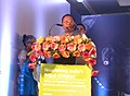 "Lal Bihari Himirika addressing at the inauguration of the National Conclave on ""Nourishing India's Tribal Children"" organised by Ministry of Tribal Affairs, UNICEF and Govt. of Odisha, at Bhubaneswar on January 15, 2015.jpg"