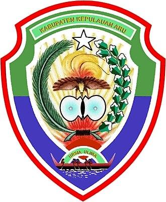 Aru Islands Regency - Image: Lambang Kabupaten Kepulauan Aru