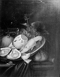 Lambert van Haven: Nature morte med hummer og citron
