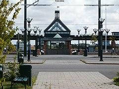 parkering landskrona station